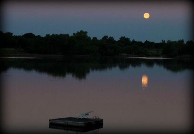 Morning Moon 1