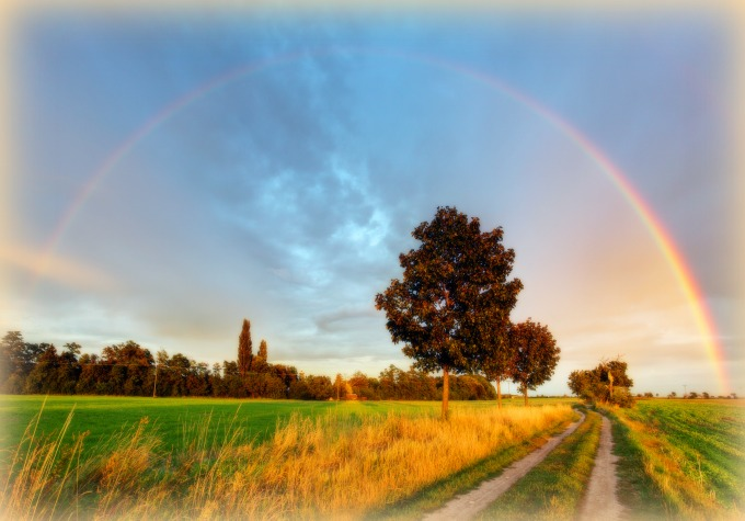 Dirt Road Rainbow 1