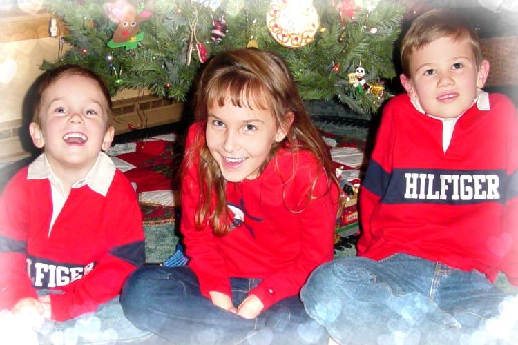3 Kids Xmas