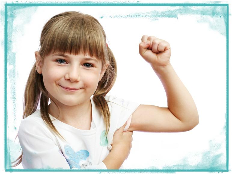 Little Girl Biceps 1