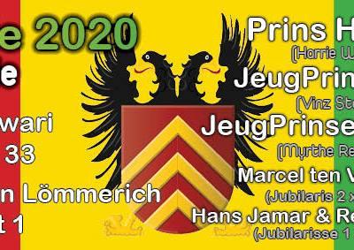 Prinseresepsie 2020