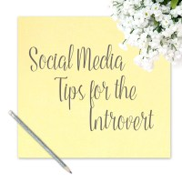 Social Media Tips for the Introvert