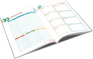 blog success planner open brain dump