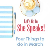 Let's Go To She Speaks!