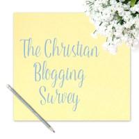 The Christian Blogger Survey
