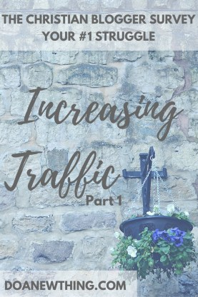 The #1 struggle of Christian bloggers is growing their blog traffic. Learn strategies that for building traffic that are consistent with the values of the faith-based blogger.