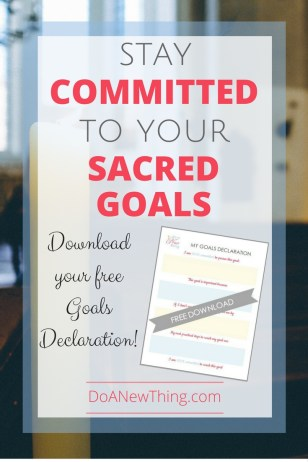 There is still plenty of time in the year to reach those goals we so prayerfully set back in December.