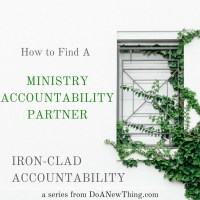 How to Find an Accountability Partner