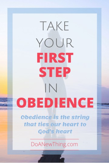 The funny thing about God is that he doesn't order us to do anything.  He makes a request and then it is up to us to submit to his authority.  To make the choice of obedience.