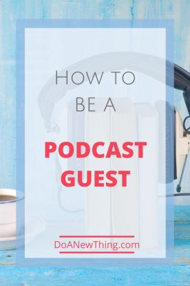 Being a podcast guest is a fun and effective way to grow your reach and influence as a Christian ministry or business leader