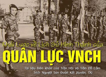 Khái lược về lịch sử hình thành của Quân Lực VNCH
