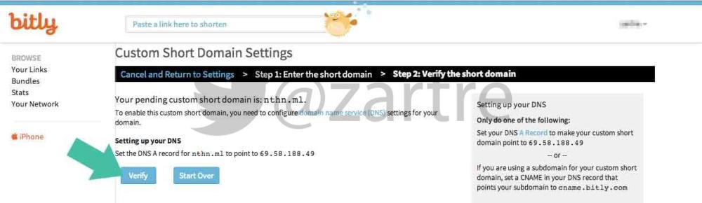 วิธีสร้าง Custom Short URL ของตัวเองด้วย Bit.ly (6/6)
