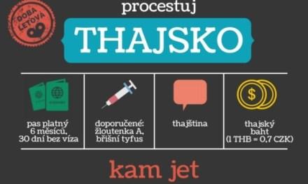 Thajsko – cestovní průvodce