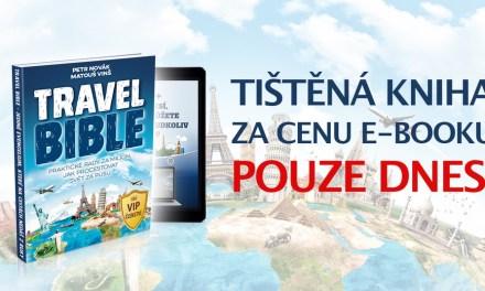 Black Friday: oblíbená Travel Bible o 30% levnější