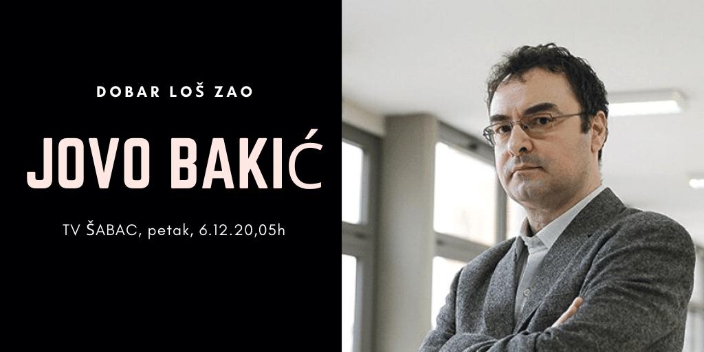 Read more about the article JOVO BAKIĆ DOLAZI U DLZ