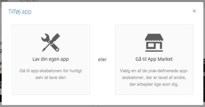 Byg dine egne apps i Podio