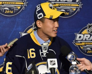 Cliff Pu - photo courtesy: Aaron Bell/OHL Images