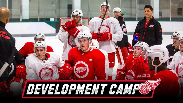 Red Wings DevCamp courtesy of NHL.com