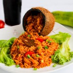 Easy Coconut Jollof Rice Recipe – How to make coconut jollof rice