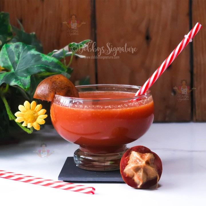 Honey sweet agbalumo udala drink how-to make African star apple agbalumo udala drink