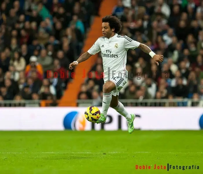 Marcelo saltando