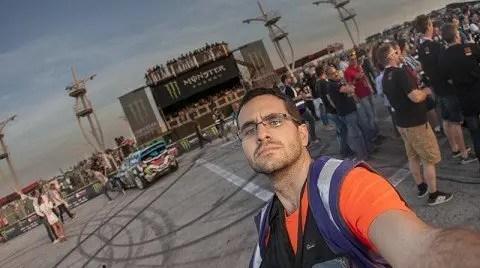 Selfie Gymkhana Grid