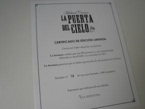La puerta del cielo Edición Coleccionista certificado edición limitada Blu-ray
