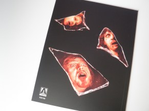 Deep Red Arrow Films Limited Edition libreto contraportada