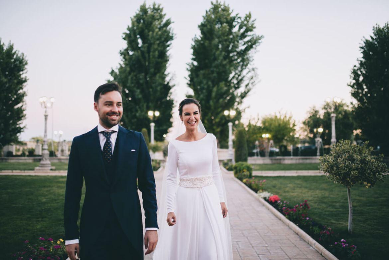 boda los jardines de palacio