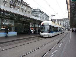 Tranvía en Zürich