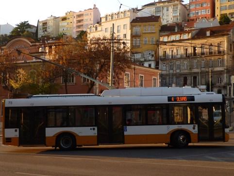 Trolleybus en Coimbra