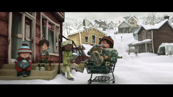 Snowtime! Blu-ray screen shot 6