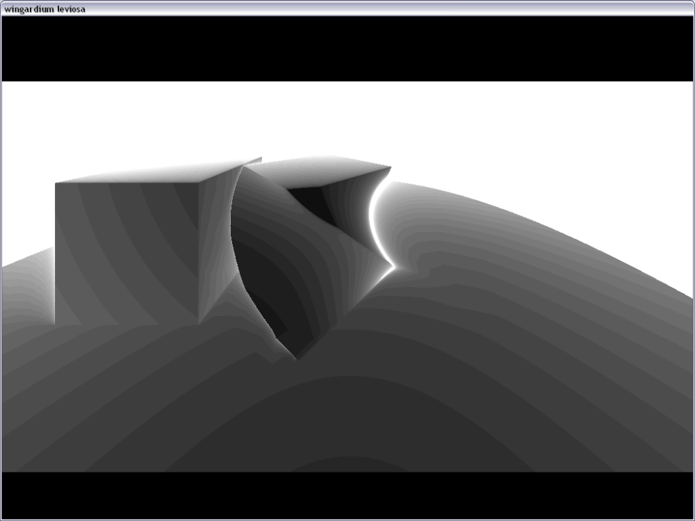 Ray marching with Distance field. (3/5)