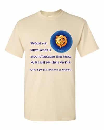 Aries T-Shirt (natural)