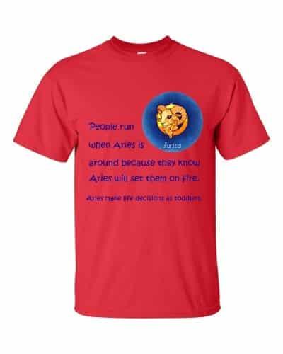 Aries T-Shirt (red)