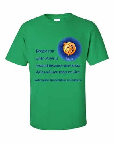Aries T-Shirt (shamrock)