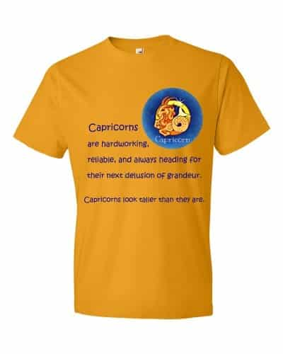 Capricorn T-Shirt (tangerine)