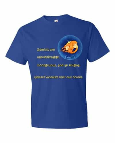 Gemini T-Shirt (royal)