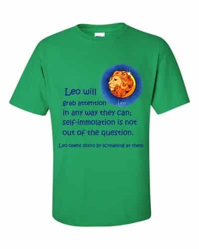 Leo T-Shirt (shamrock)
