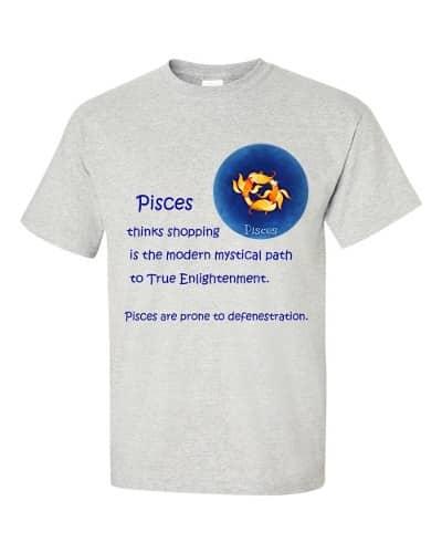 Pisces T-Shirt (ash)