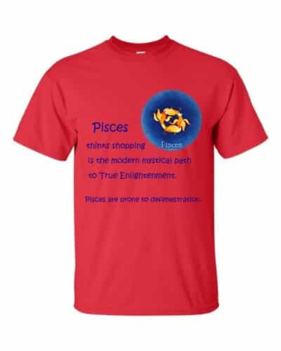 Pisces T-Shirt (red)