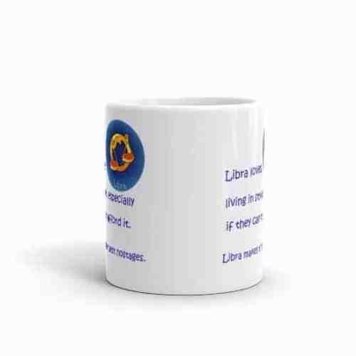 Libra Mug - 11 front