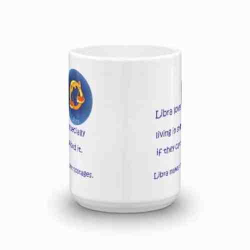 Libra Mug - 15 front