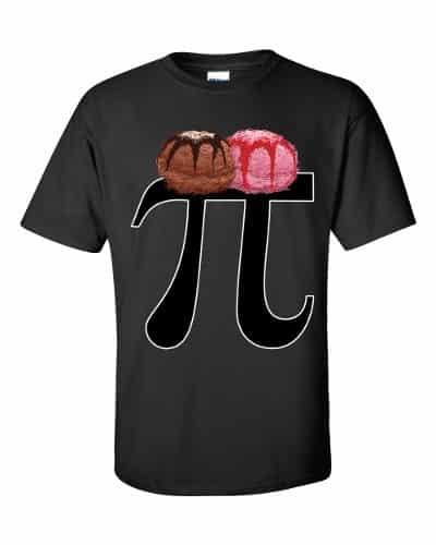 Pi a la Mode T-Shirt (black)