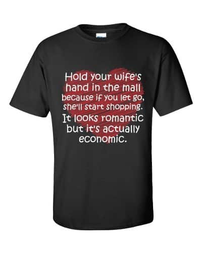 Hold Your Wife's Hand T-Shirt (black)
