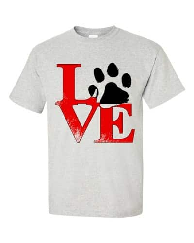 Puppy Love T-Shirt (ash)