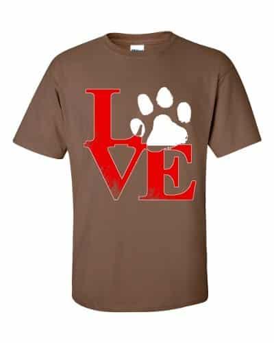 Puppy Love T-Shirt (chestnut)