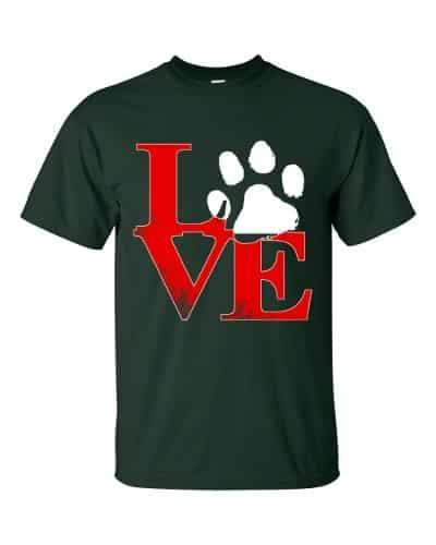 Puppy Love T-Shirt (forest)