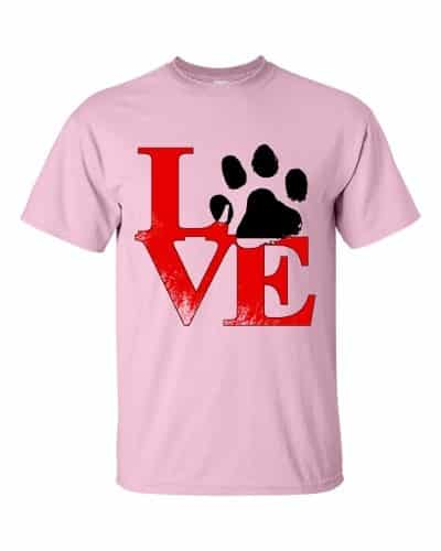 Puppy Love T-Shirt (pink)