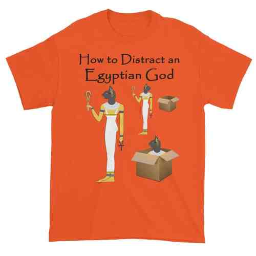 How to Distract an Egyptian God (orange)